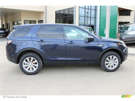 blue land rover discovery loire blue metallic 2016 land rover discovery sport se 4wd