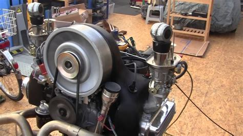 Vw -type 4-engine Start-up 2,4l