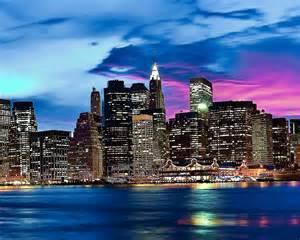 New York City Skyline Color