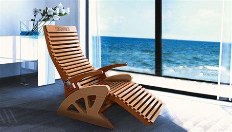 Poltrona Holl's Relax Alto Confort In Legno Massello Con