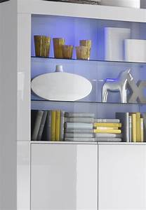 Wohnzimmer Vitrine Weiß Hochglanz : vitrine in wei hochglanz lack italien livorno ~ Lateststills.com Haus und Dekorationen