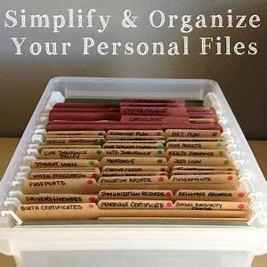 1000 ideas about organizing important papers on pinterest With how to organize important documents at home