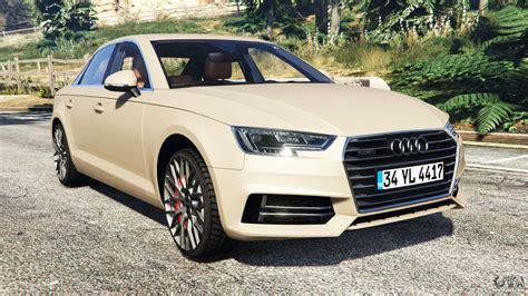 Audi A4 2017 For Gta 5