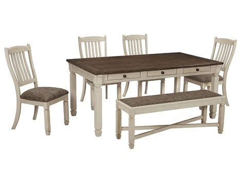 rectangle table with chairs furniture now bolanburg antique white rectangular dining