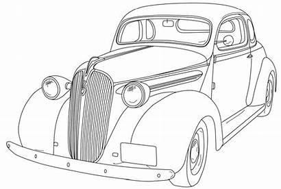 1930 Chevrolet Coupe Dibujos Coloring Colorear Imprimir