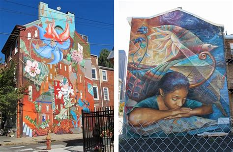 philadelphia nature inspired outdoor murals garden design