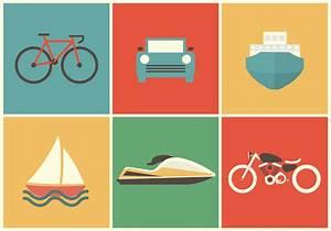 Transportation Vector Icons - Download Free Vector Art ...