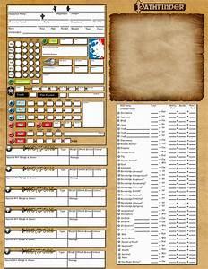 Pathfinder digital character sheet - an online character sheet for