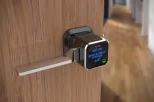 smart door locks genie smart lock hiconsumption