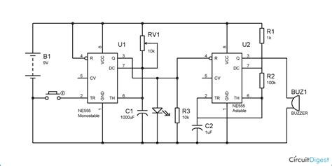 Electronic Bell Circuit Diagram by Pin On Pinned Electronic Circuits