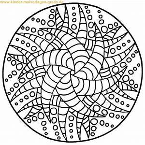 Mandala Zum Ausdrucken Download Seite Mandalas Zum