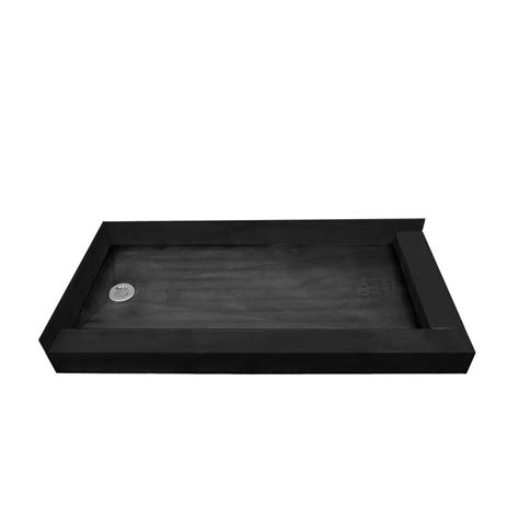 shower pan tile ready kohler salient 60 in x 30 in single threshold shower