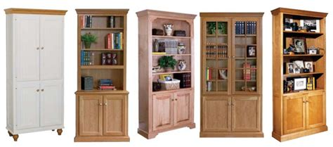 Unfinished Bookcases With Doors by The Advantages Of Solid Wood Bookcases