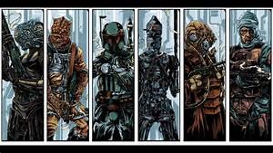 Bounty Hunters: 4-Lom - Bossk - Boba Fett - IG-88 ...