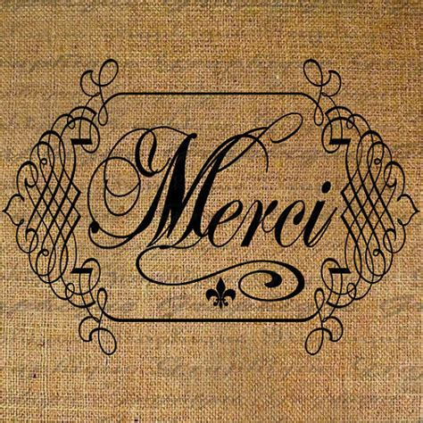 merci   calligraphy france french text word digital