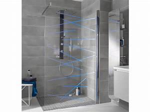 Succombez a la tendance des douches a litalienne elle for Porte de douche coulissante avec lapeyre salle de bain carrelage