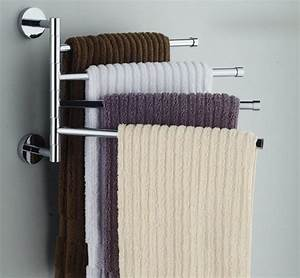 Best ideas about bathroom towel racks on