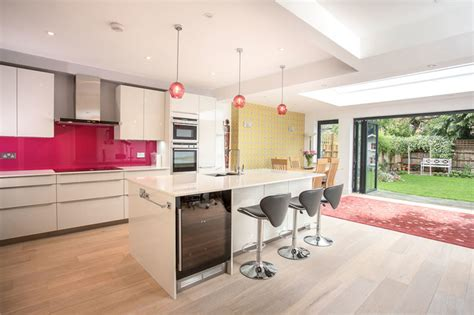 kitchen counter top design single storey rear extension in twickenham by l e don t 4299