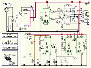 300 Watts Pwm Controlled  Pure Sine Wave Inverter Circuit