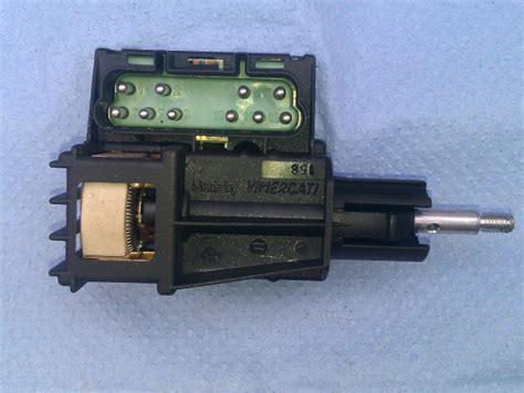 Repairing Headlight Dimmer Switch