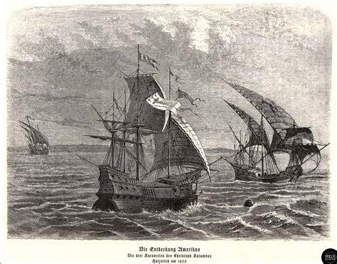 Die Entdeckung Amerikas - Die drei Karavellen von Christop ...
