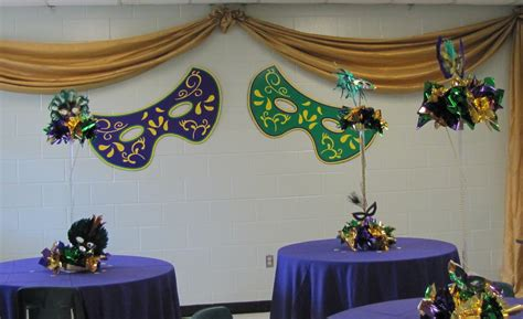 Mardi Gras Table Decorations Ideas - Elitflat