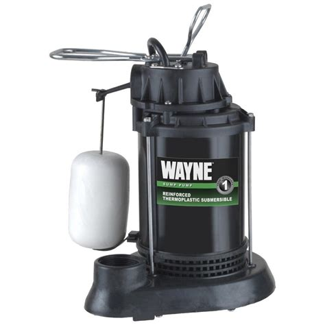 choosing   sump pump wayne pumps