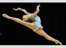 Kseniya Moustafaeva in FIG Rhythmic Gymnastics Olympic