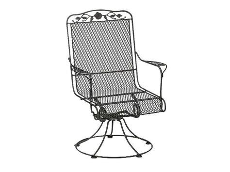 woodard windflower swivel arm chair replacement cushions