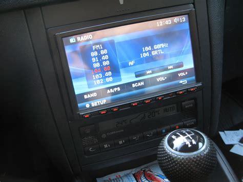 doppel din radio navi radio verbaut empfehlung f 252 r passendes doppel din navi radio gesucht vw golf 4 202867234