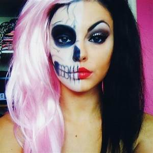 Halloween Make Up Puppe : 50 bonnes id es de maquillage d 39 halloween photos et vid os ~ Frokenaadalensverden.com Haus und Dekorationen