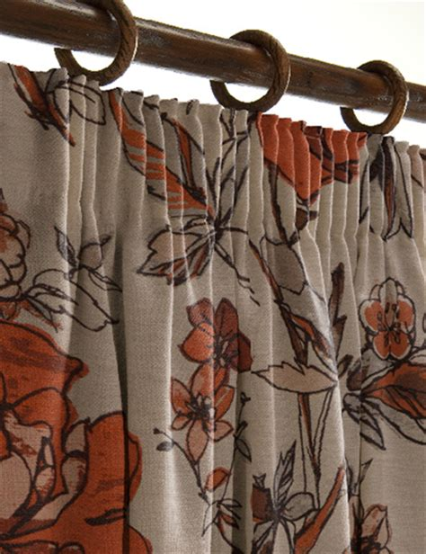 curtains ideas 187 brown and burnt orange curtains