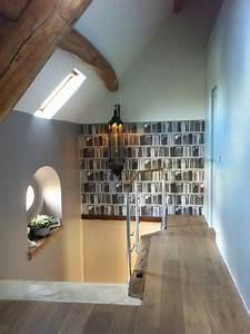 decoration palier et montee d39escalier eclectique With decoration montee d escalier