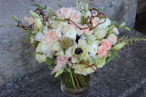 wedding flowers portland oregon romantic lush bouquet