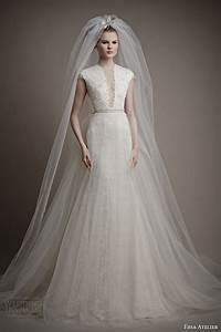 ersa atelier spring 2015 wedding dresses wedding inspirasi With overskirt wedding dress