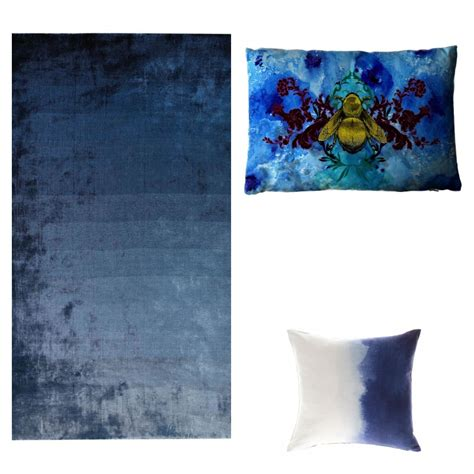 Navy Blue Rugs and Accessories - Mad About The House