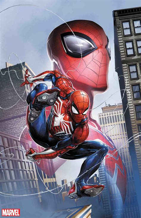 First Look Marvel Comics Celebrates Ps4 Spider Man Game