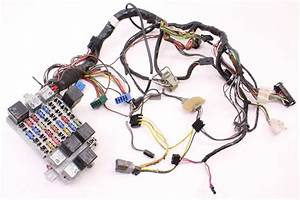 Dash Interior Wiring Harness Fuse Box 81