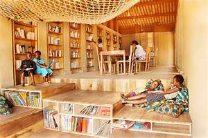 Rammed Earth Muyinga Library Provides a Bright Learning ...