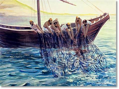 Boat Sinking Load Of Fish by A Friend Comes Back Your Bible Level 3 Lesson 24