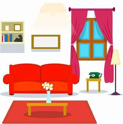 Living Clipart Castle Cartoon Vector Transparent Couch