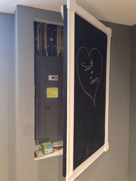 Chalkboard Door To Cover Electrical Panel  Basement. Holland Furniture. Best Furniture Brands. Ceiling Fan With Drum Light. Lowes Carpet Reviews. Ikea Farm Sink. Kitchen Island With Cooktop. Modern Craftsman. Recessed Porch Lighting