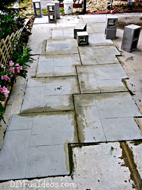naffco flooring ta fl gorgeous diy sted concrete tile driveway for less
