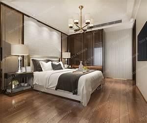 Luxury, Modern, Bedroom, Suite, In, Hotel, With, 3d, Model, 1