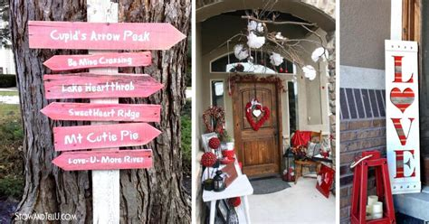Best 24 Outdoor Valentines Day Decor Ideas For 2019