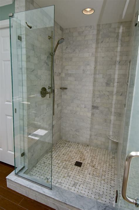 kohler tub marble subway tile shower offering the sense of elegance