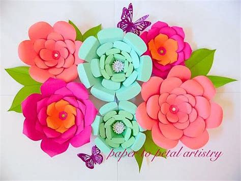Azuzena Flower Template by 34 Best Images About Diy Giant Paper Flowers On Pinterest