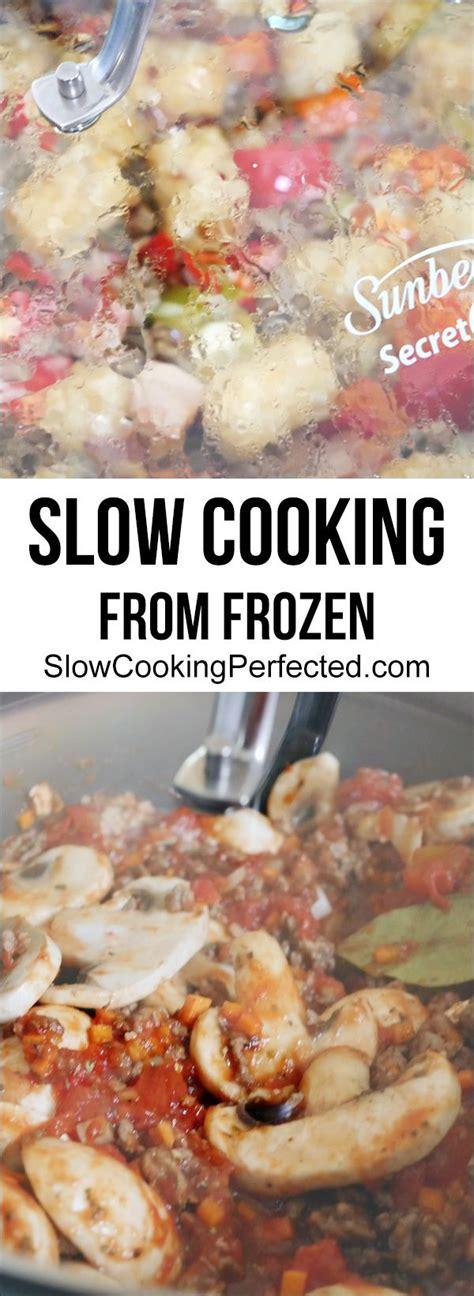 chicken frozen dangers cooking slow meat cooker pork slowcookingperfected