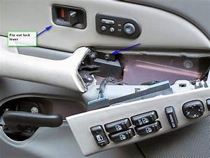 How Do You Remove The Inside Driver U0026 39 S Side Door Panel On A