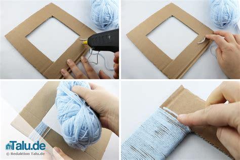 bilderrahmen basteln pappe bilderrahmen aus pappe papier selber bauen